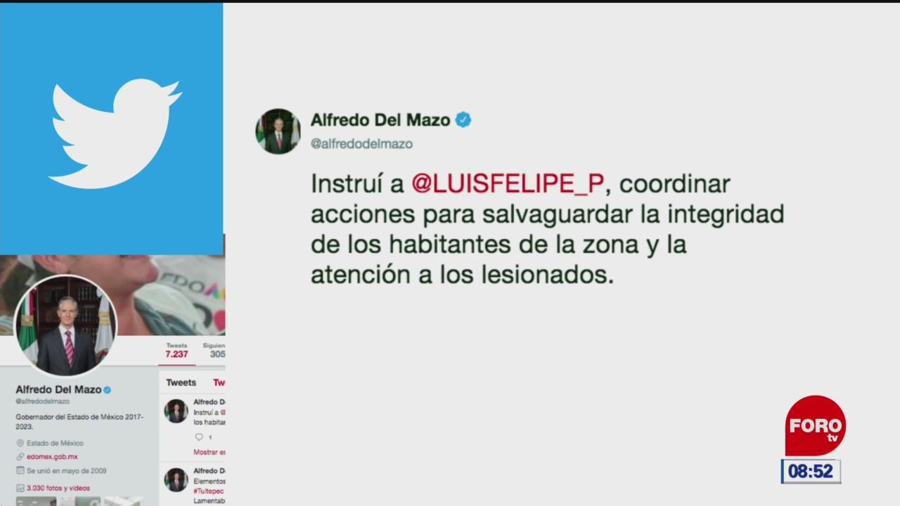 Mueren dos personas por explosión de polvorín en Tultepec