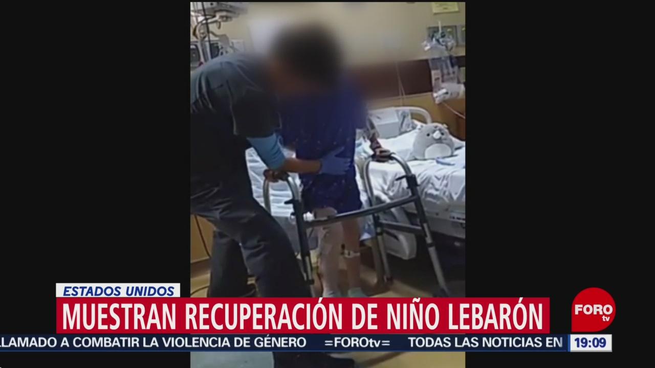 Foto: Niño Lebarón Recupera Ataque Chihuahua 19 Noviembre 2019