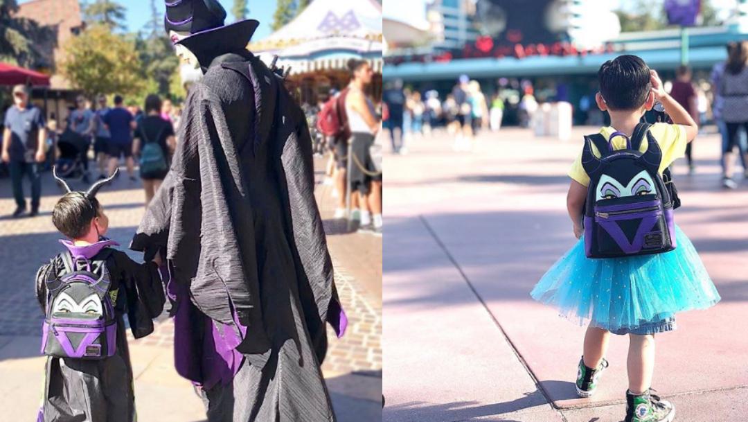 Foto: Madre cumple sueño hijo disfrazarlo princesa y llevarlo a Disneyland. 4 Noviembre 2019