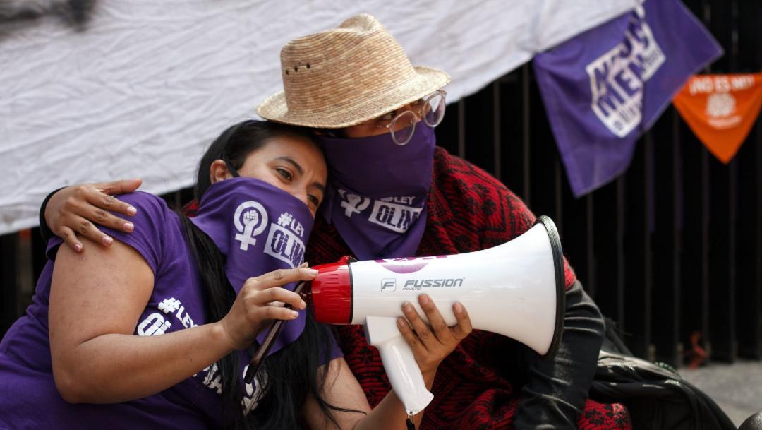 Ley Olimpia, feministas, Senado, acoso
