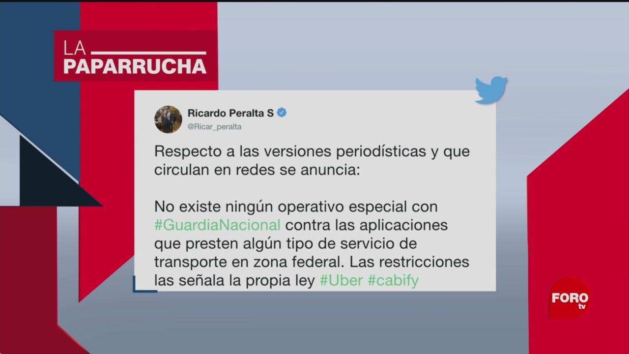 Foto: Operativos Contra Uber Cabify Aeropuertos Noticias Falsas 31 Octubre 2019