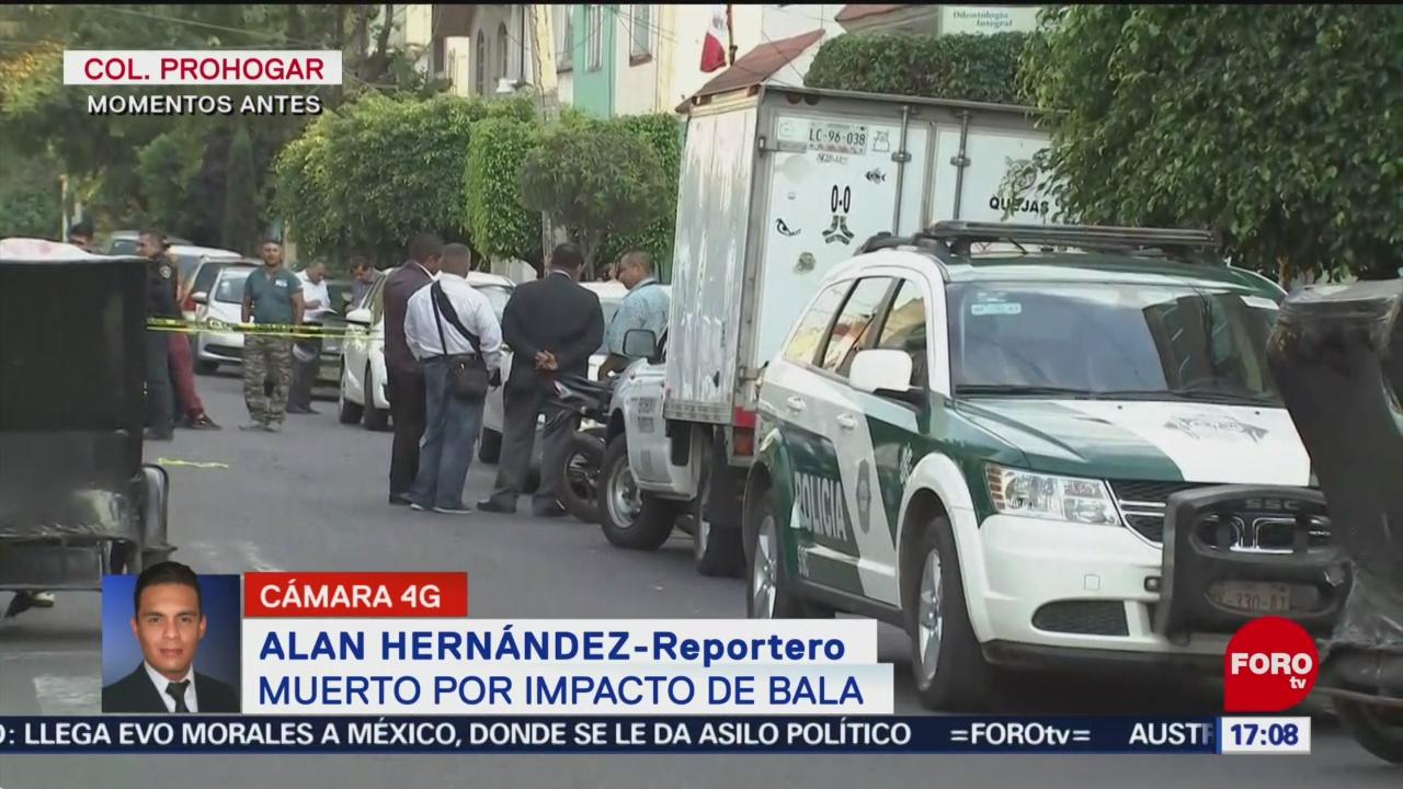 FOTO: Muerto Por Arma Fuego Azcapotzalco