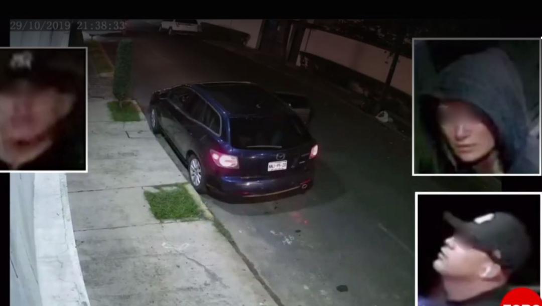 En el nuevo video aparecen los presuntos ladrones de Lindavista. (FOROtv)