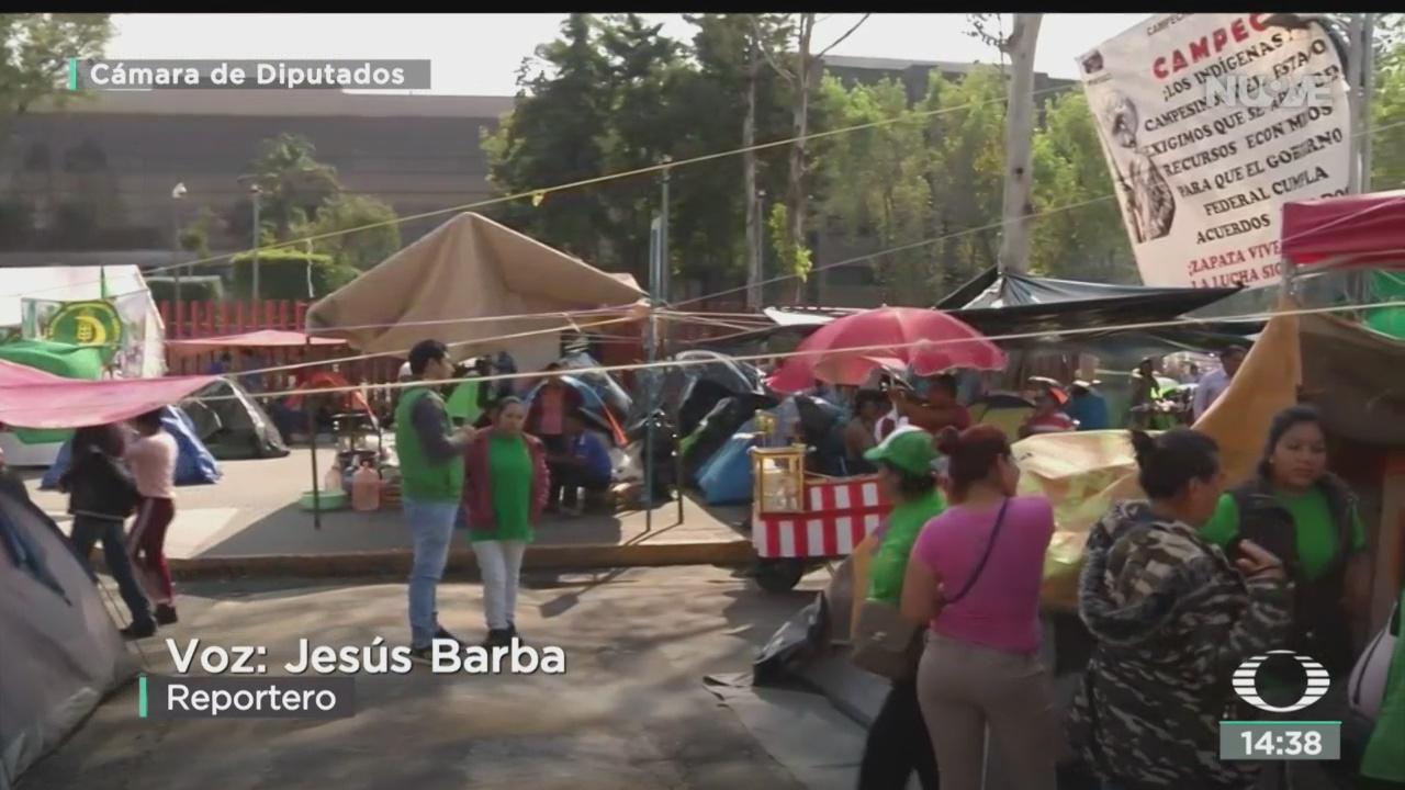FOTO: Se cumple una semana de bloqueos de campesinos en San Lázaro, 18 noviembre 2019