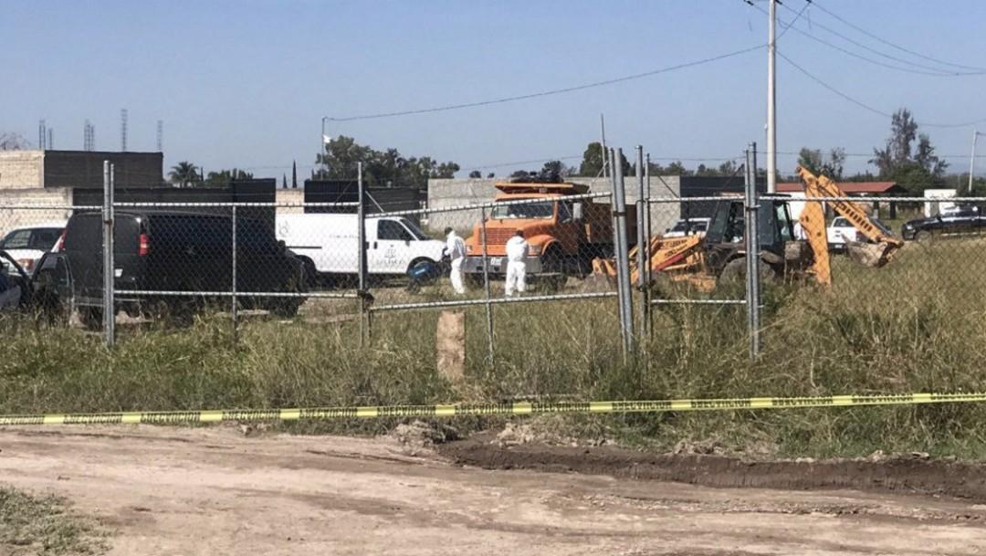 Foto: Blanca Trujillo Cuevas, fiscal especializada en Personas Desaparecidas, señaló que los cuerpos fueron hallados en un finca, agregó que fueron localizadas ocho bolsas más con restos