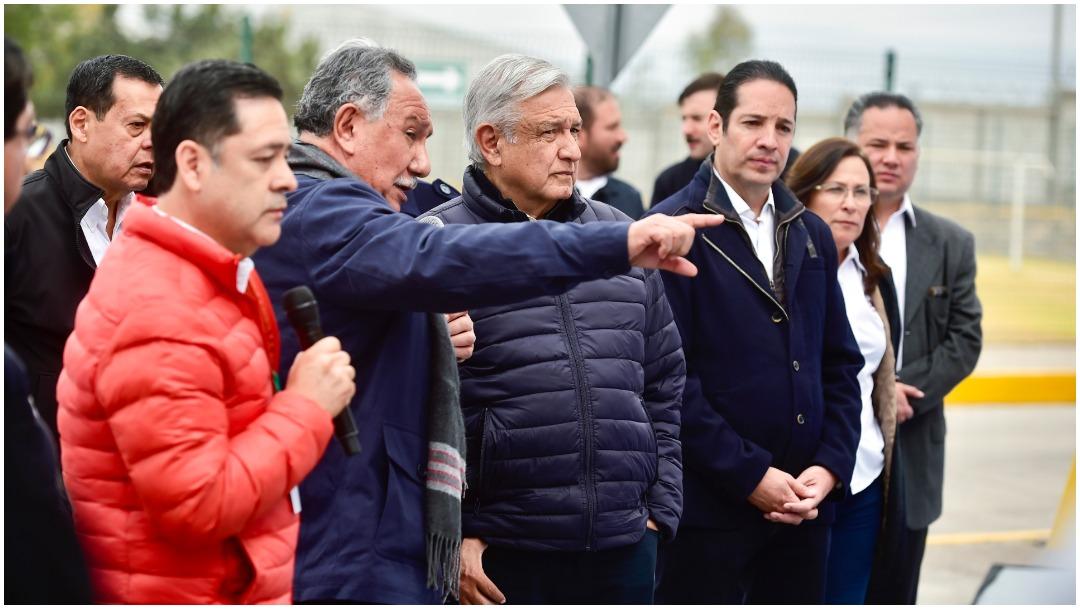 Imagen: El presidente López Obrador continuará este sábado con sus recorridos a centrales geotermoeléctricas, 21 de diciembre de 2019 (PRESIDENCIA/CUARTO OSCURO)