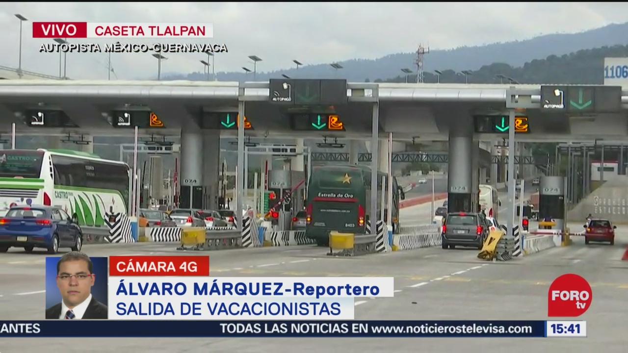 FOTO: 21 diciembre 2019, automoviles comienzan a abandonar la ciudad de mexico