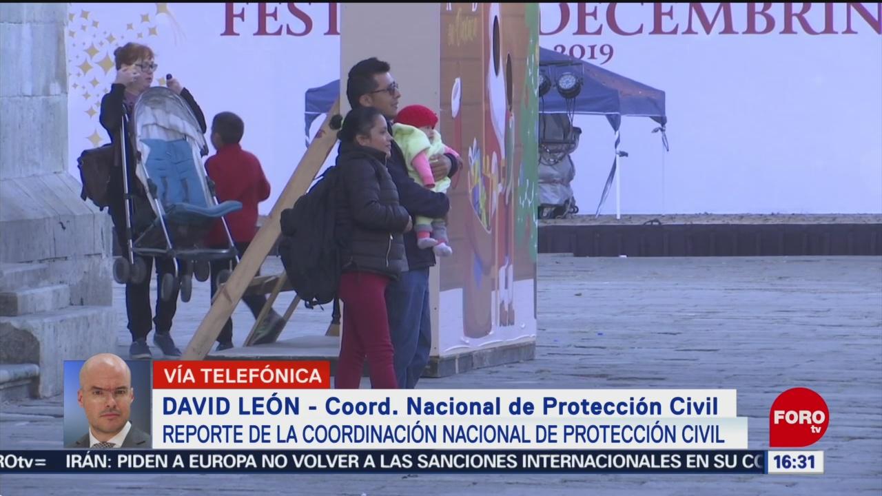 Foto: Bajas Temperaturas Prevalecerán Gran Parte País 23 Diciembre 2019