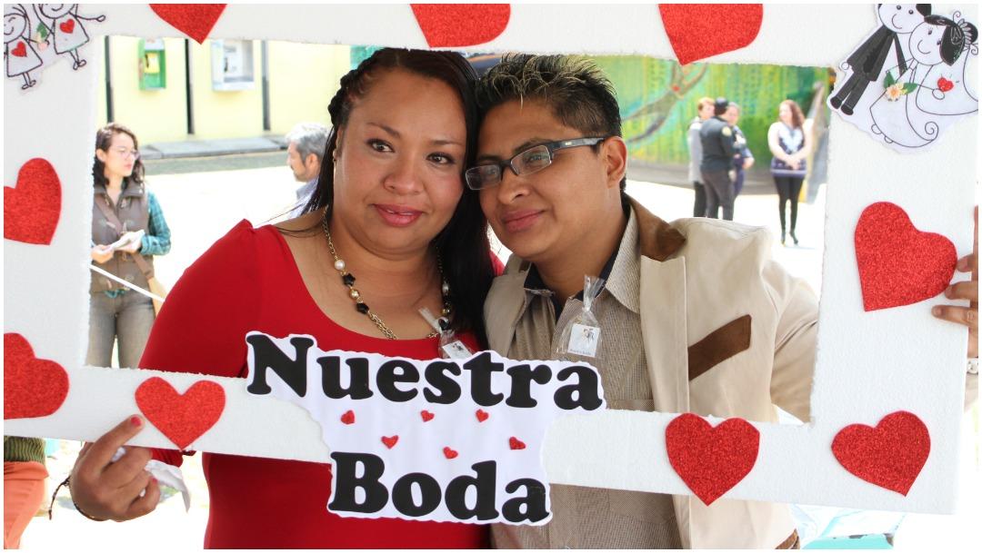 Imagen: Cerca de 500 reos contrajeron matrimonio en cárceles de la CDMX, 28 de diciembre de 2019 (ANTONIO CRUZ /CUARTOSCURO.COM)