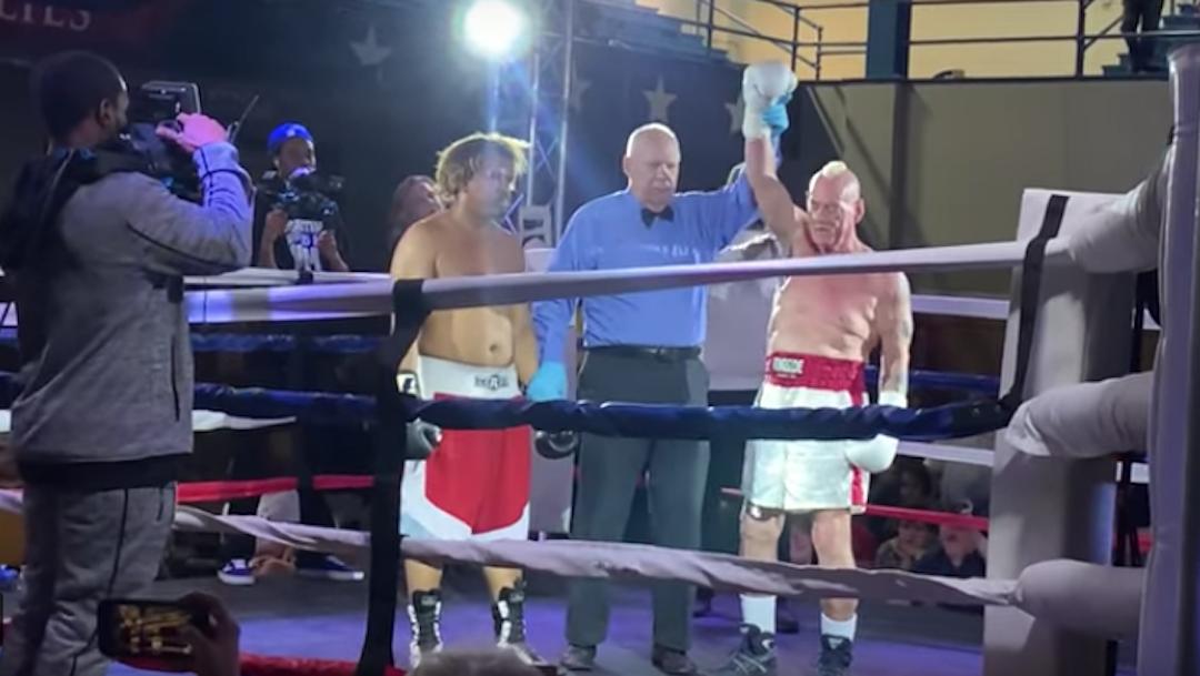 Foto Boxeador de 70 años noquea a rival más joven 26 junio 2019