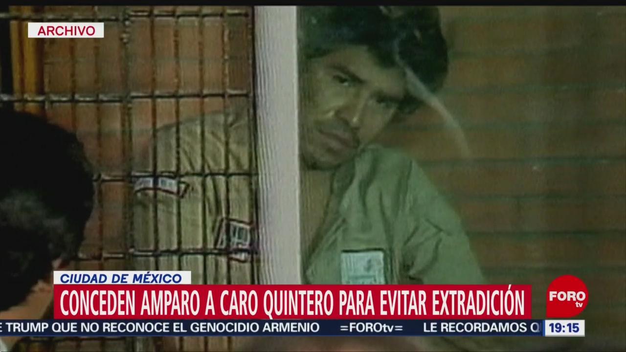 Foto: Caro Quintero Amparo Evitar Extradición Estados Unidos 17 Diciembre 2019