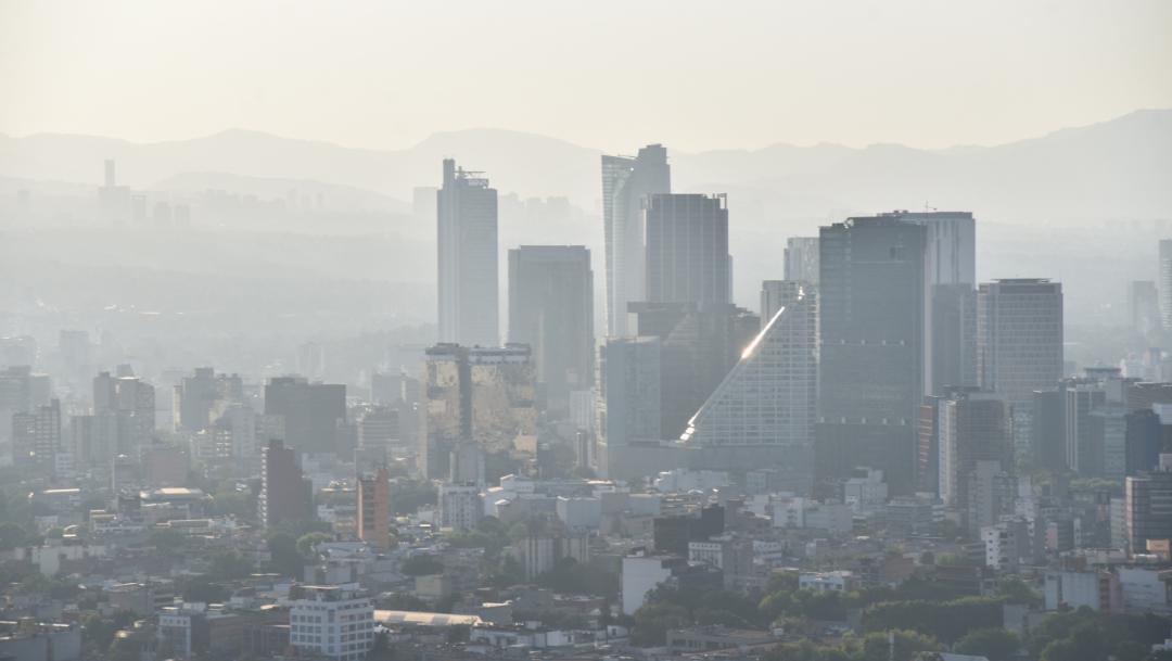Foto: Vista de la Ciudad de México, 25 diciembre 2019