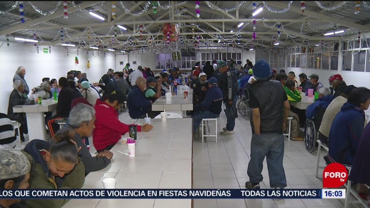 Foto: Cenas Navideñas Personas Situación De Calle Cdmx 25 Diciembre 2019