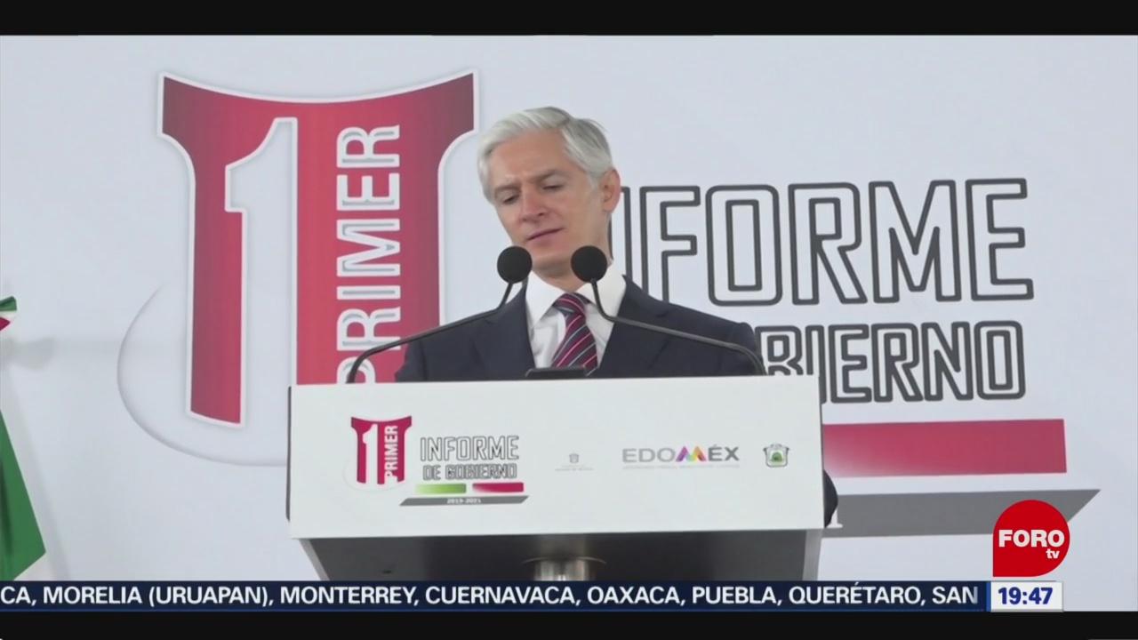 Foto: Alfredo Del Mazo Diputados Proyecto Mejorar Carreteras 5 Diciembre 2019