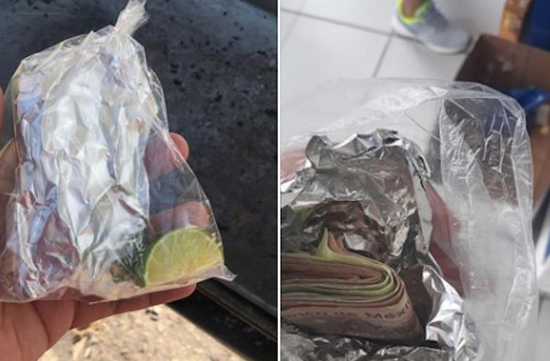 Foto Se viraliza imagen de mexicano que esconde su dinero como si fueran tacos 31 diciembre 2019