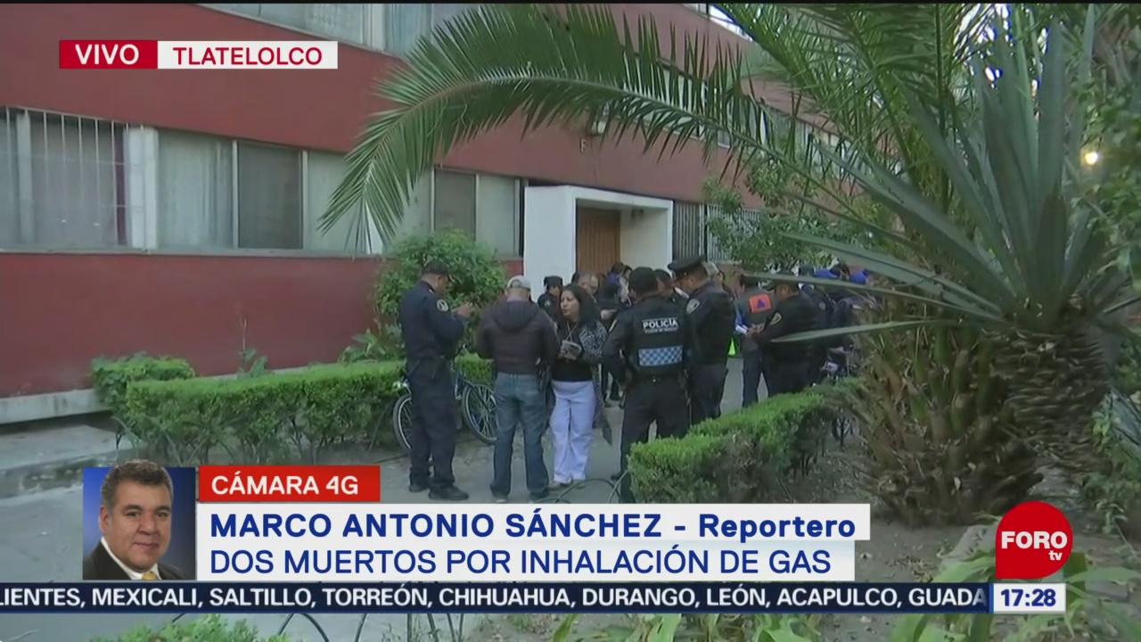 FOTO: Dos Adultos Mayores Mueren Por Inhalación Gas Tlatelolco