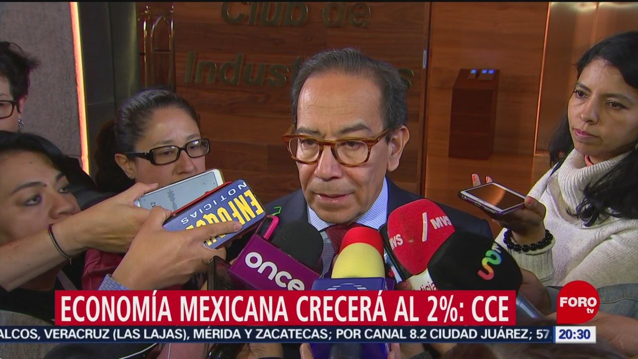 Foto: Economía Mexicana Crecerá Asegura Cce 13 Diciembre 2019
