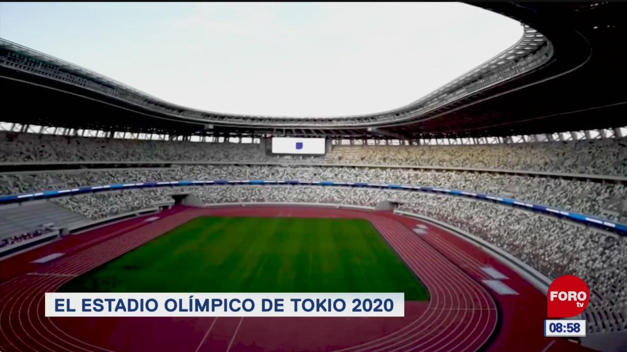 el estadio olimpico de tokio