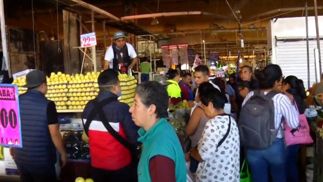 El Mercado de La Merced, de pie a horas de concluir 2019