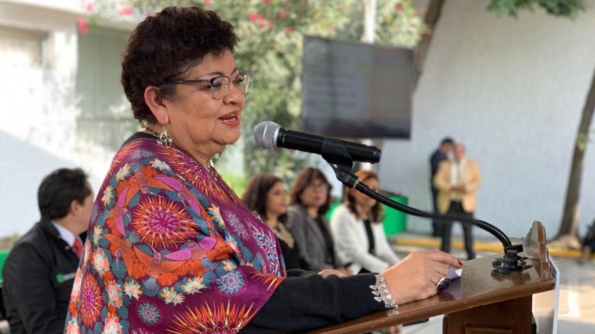 Ernestina Godoy, procuradora de Justicia de la CDMX.