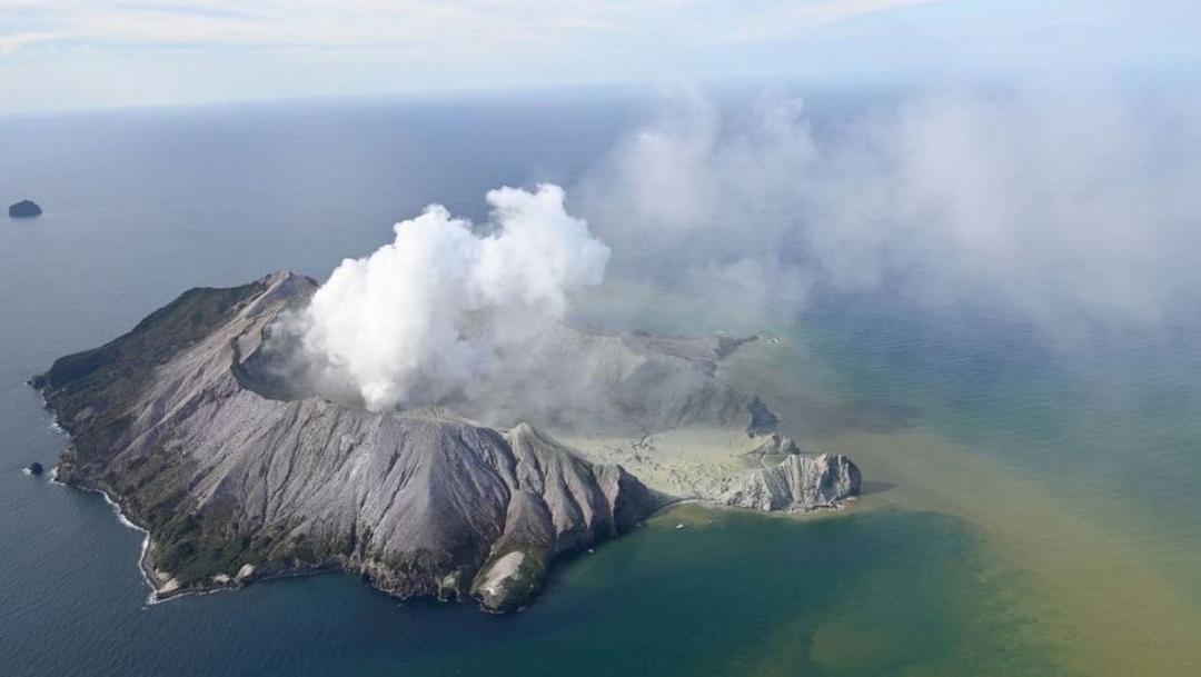 Galería: Así se registró la erupción del volcán Whakaari