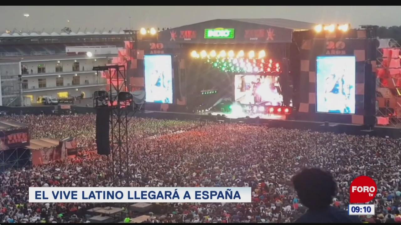 espectaculosenexpreso el vive latino llegara a espana