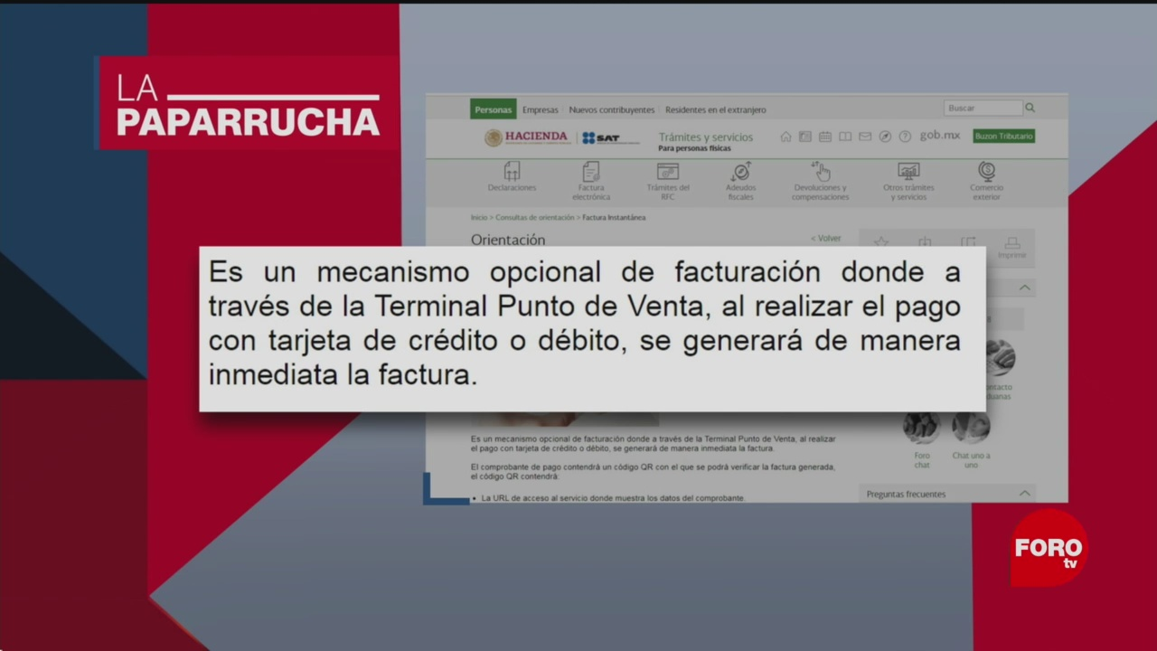 Foto: Facturación Obligatoria Comprar Tarjetas Crédito Noticias Falsas 6 Diciembre 2019