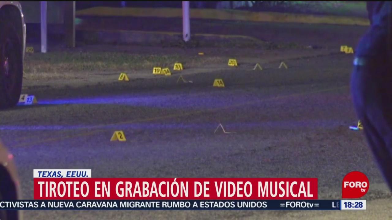 Foto: Emboscada Grabación Video Musical Houston Texas 28 Diciembre 2019