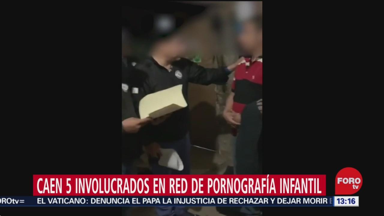 fgr detiene a grupo criminal dedicado a la pornografia infantil