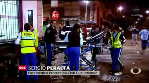 Foto: Fiesta Fin Año Termina Intoxicación Masiva Cdmx 20 Diciembre 2019
