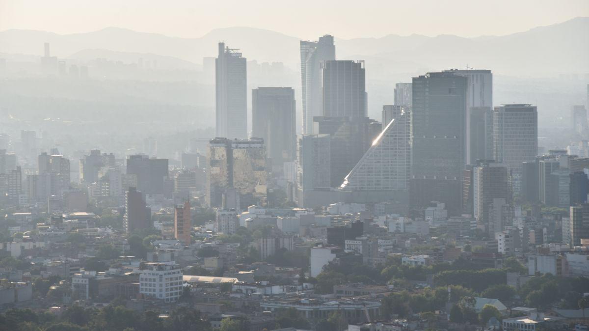 Mala calidad del aire en la CDMX.