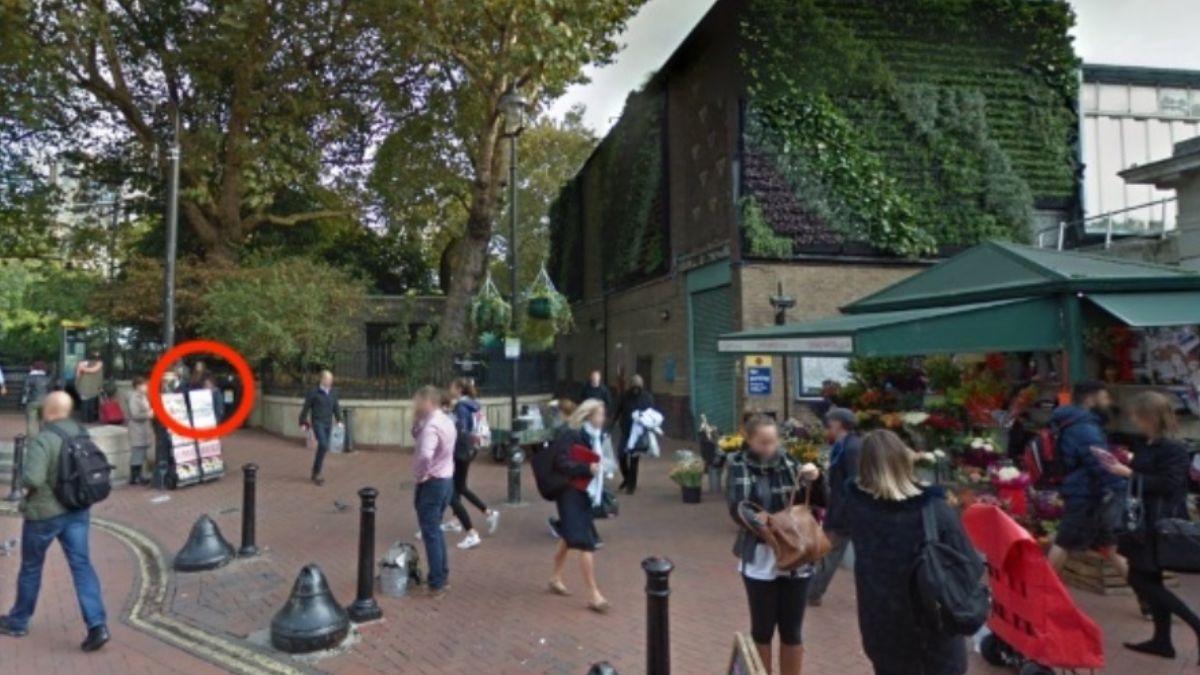 Foto: Una calle transitada en Birmingham, Inglaterra. Google Maps