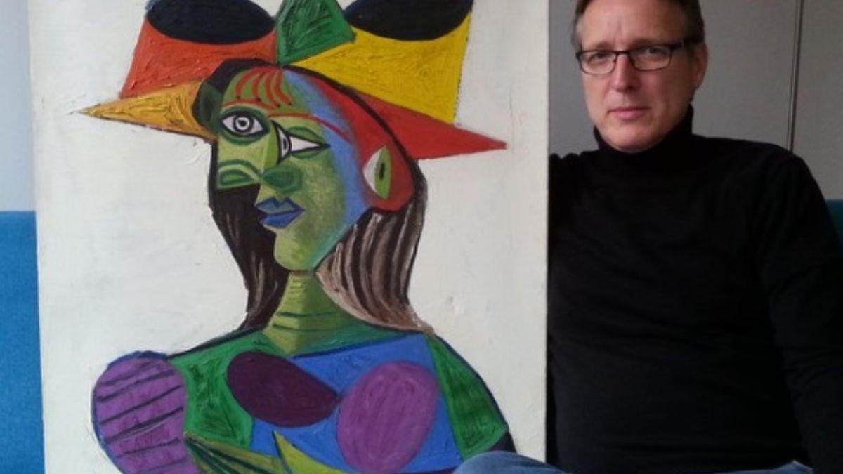 """""""Busto de una Mujer"""", fechada en 1944, de Pablo Picasso"""