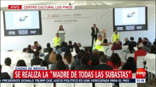 FOTO: Inicia subasta de bienes incautados al crimen organizado en Los Pinos, 14 diciembre 2019