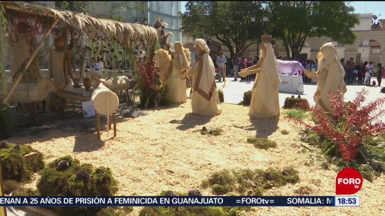 Foto: Nacimiento Figuras Tamaño Real Chiapas 23 Diciembre 2019