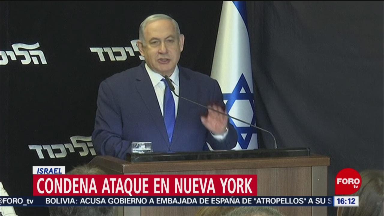 Foto: Ataque Judíos Nueva York Israel Condena 29 Diciembre 2019