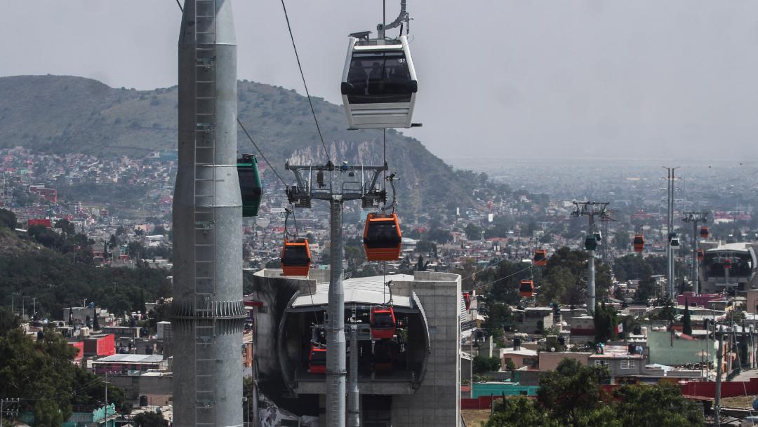 Mexicable en el municipio de Ecatepec estado de México