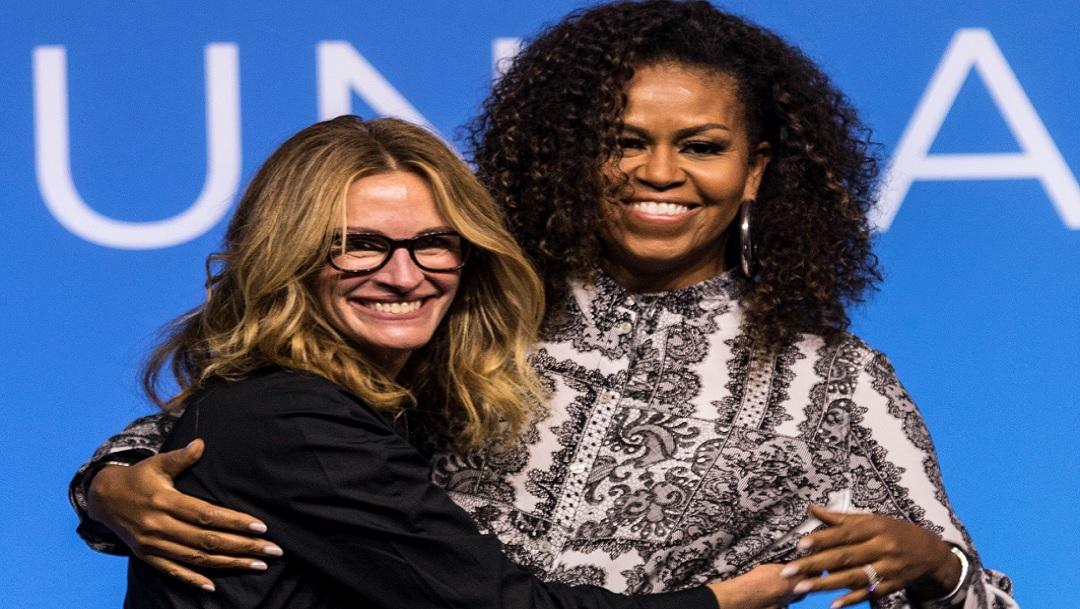 Michelle Obama y Julia Roberts animan a líderes asiáticas del futuro en Kuala Lumpur