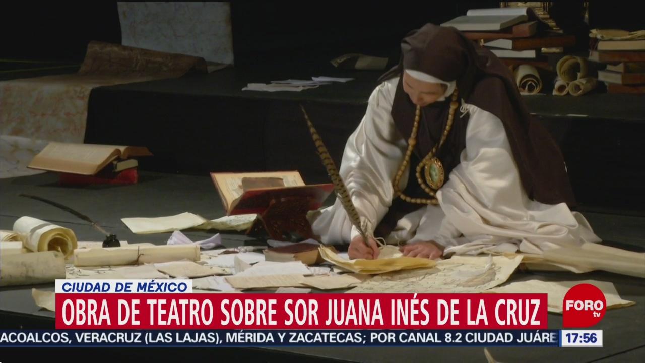 FOTO: Migrantes Realizan Obra Teatro Sobre Sor Juana Inés Cruz,