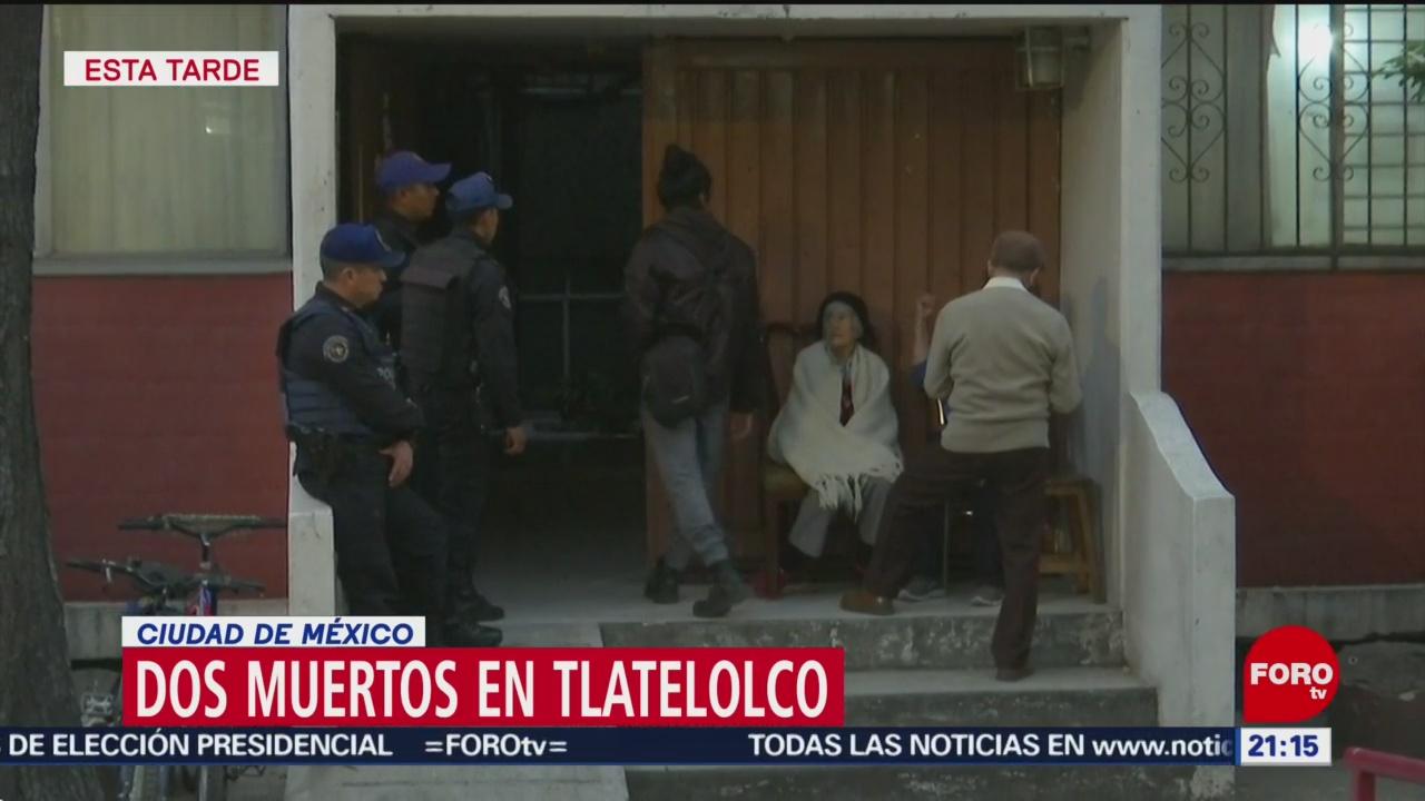 Foto: Mueren Dos Personas Perrito Tlatelolco Hoy Fuga Gas 11 Diciembre 2019