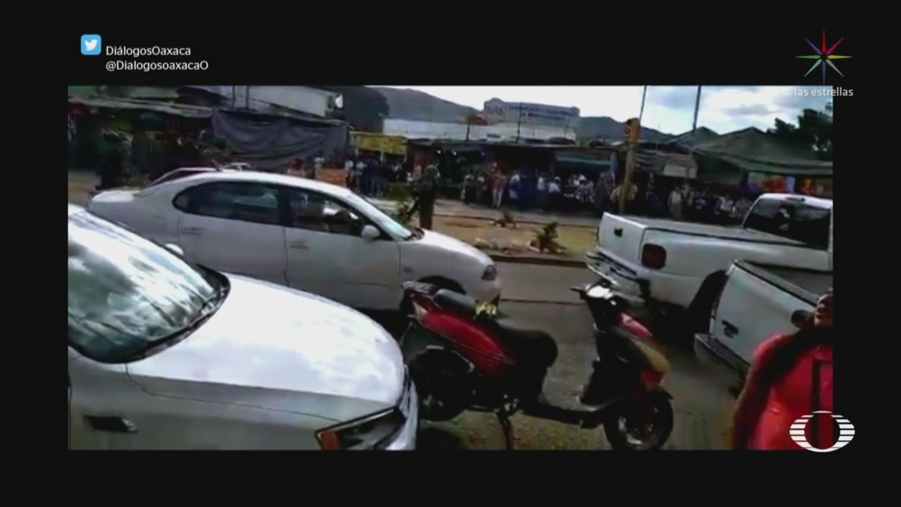 Foto: Operativo Pirotecnia Termina Enfrentamiento Oaxaca 24 Diciembre 2019