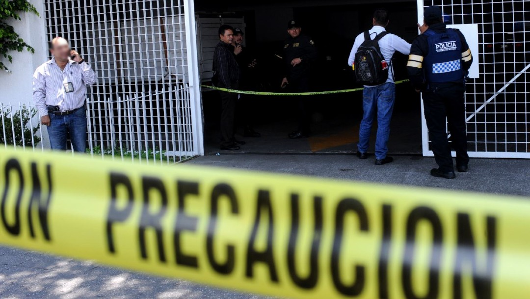 Imagen: Los restos de una víctima de secuestro fueron hallados en un predio del municipio mexiquense por elementos de la PGJCDMX, quienes actuaron en coordinación con integrantes de la FGJEM
