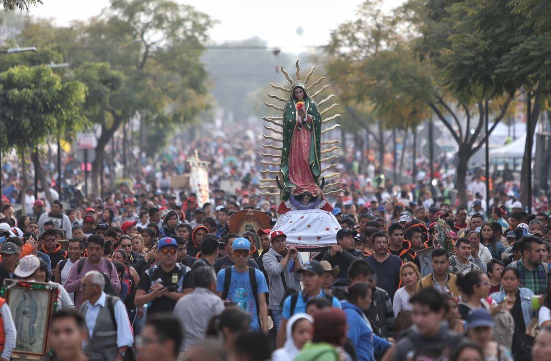 Más 10 millones de peregrinos visitaron la Basílica de Guadalupe