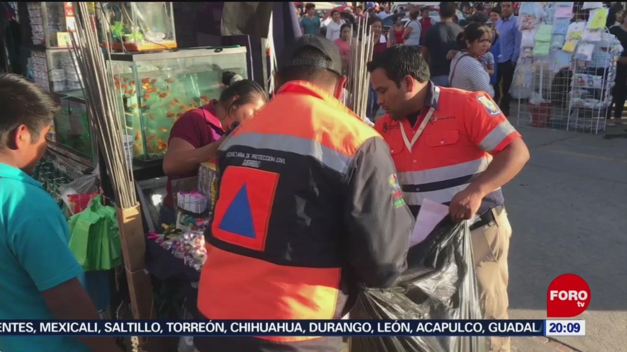 Foto: Operativo Venta Ilegal Pirotecnia Guerrero 24 Diciembre 2019