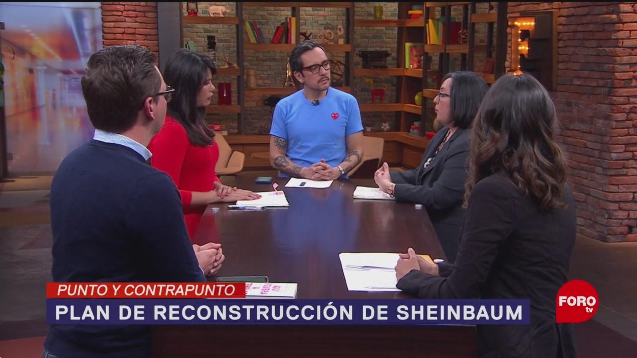 Foto: Sismo Cdmx Plan Reconstrucción Gobierno Sheinbaum 10 Enero 2020