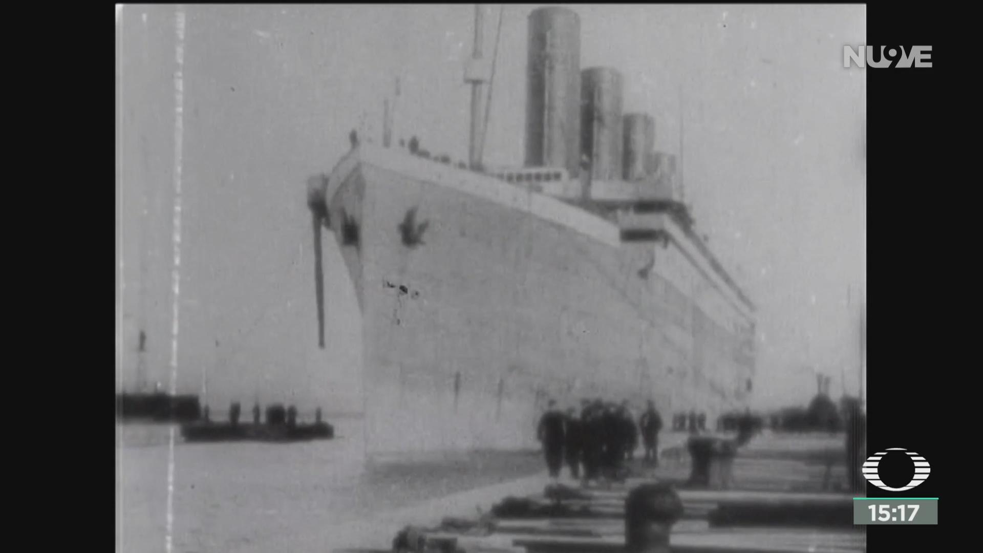 FOTO: acuerdo entre reino unido y eeuu para proteger al titanic