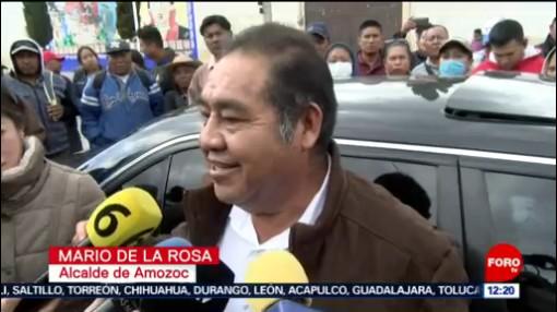 FOTO: 25 enero 2020, alcalde de amozoc rechaza senalamientos por desvio de recursos