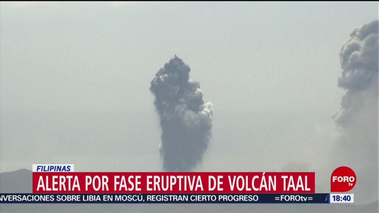 FOTO: alerta en filipinas por erupcion del volcan taal