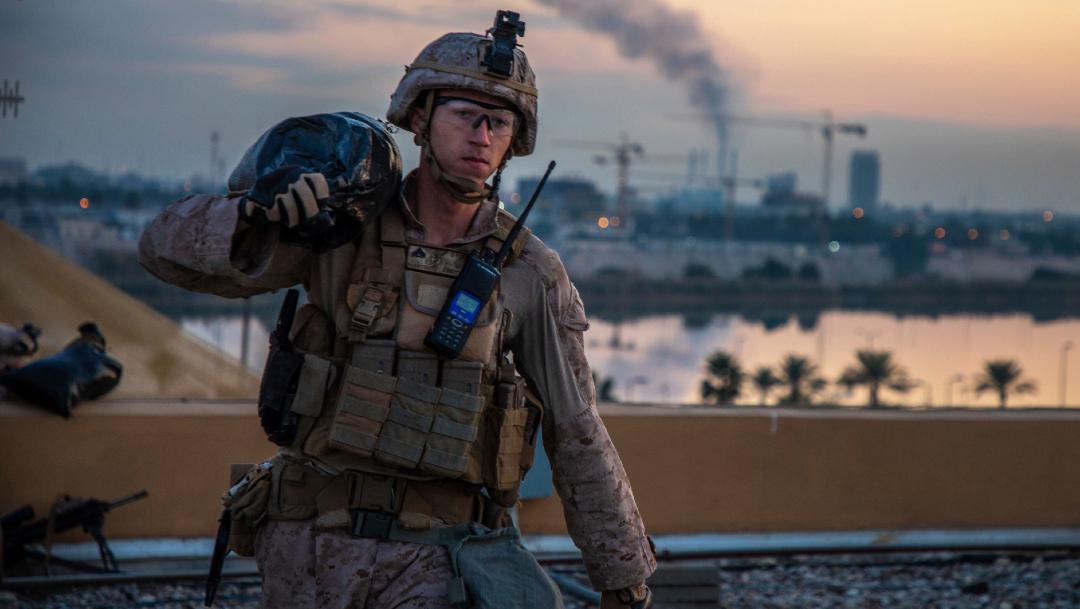 Soldado estadounidense en Irak