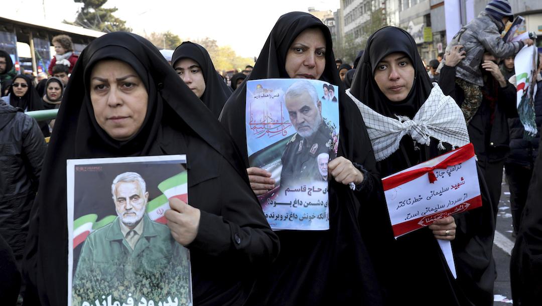Zeinab Soleimani envía advertencia a EE UU y Trump